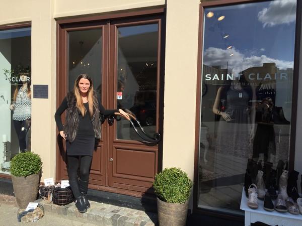 Trine Skaarup fra Saint Clair deltager i Næstved Erhvervs Google Workshops