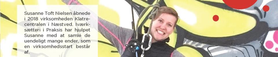 Susanne Toft Nielsen Klatrecentralen_Iværksætteri i Praksis_Naestved Erhverv