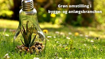 """""""Den grønne omstilling i bygge- og anlægsbranchen i Danmark"""""""