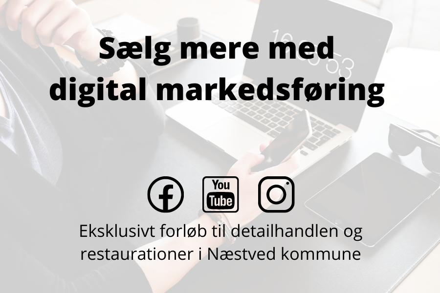 """Informationsmøde om forløbet """"Digital handel – salg og online markedsføring"""""""