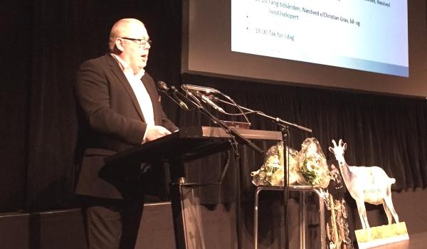 Torben Johansen, formand for Næstveds erhvervsforening