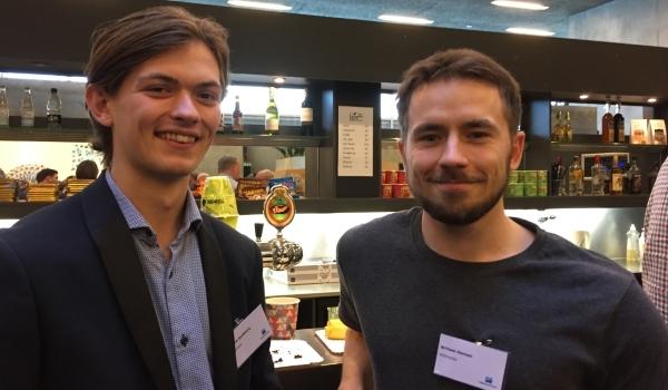 Iværksætteri er en stor del af Næstveds DNA og derfor også højt prioriteret blandt deltagerne i erhvervskonferencen. Det er Jakob Spodsberg og William Hansen fra iværksætter-kontorfællesskabet Remisen i Næstved godt tilfredse med.